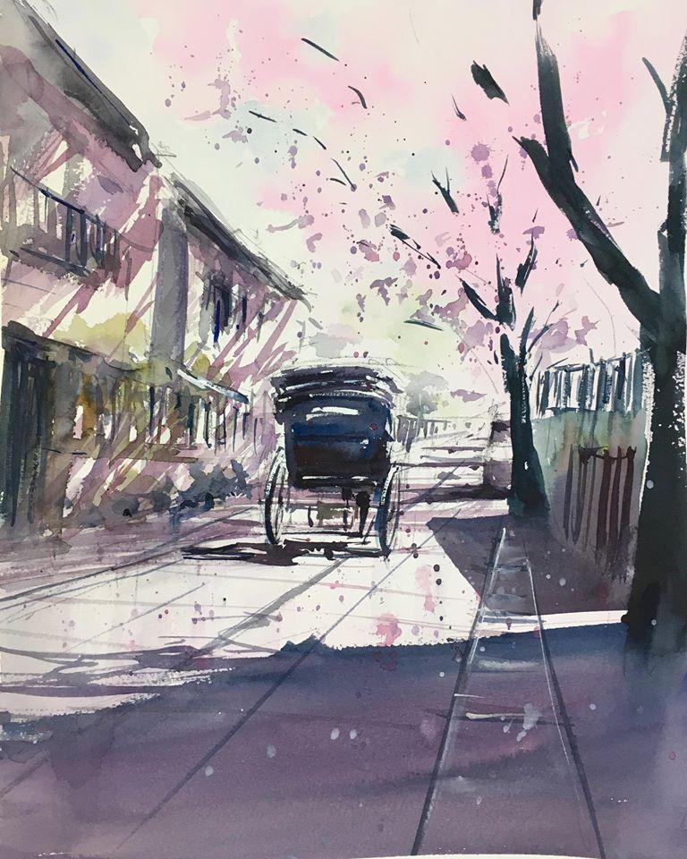春を駆ける(鎌倉)
