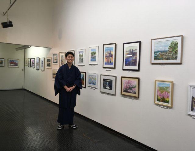 第一回鎌倉水彩画塾展(終了)来場者数1600名!!