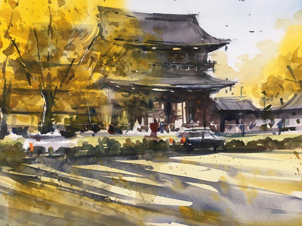 紅葉の西本願寺